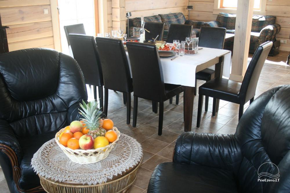 Homestead for rent in Trakai region near the lake Juodis - 5