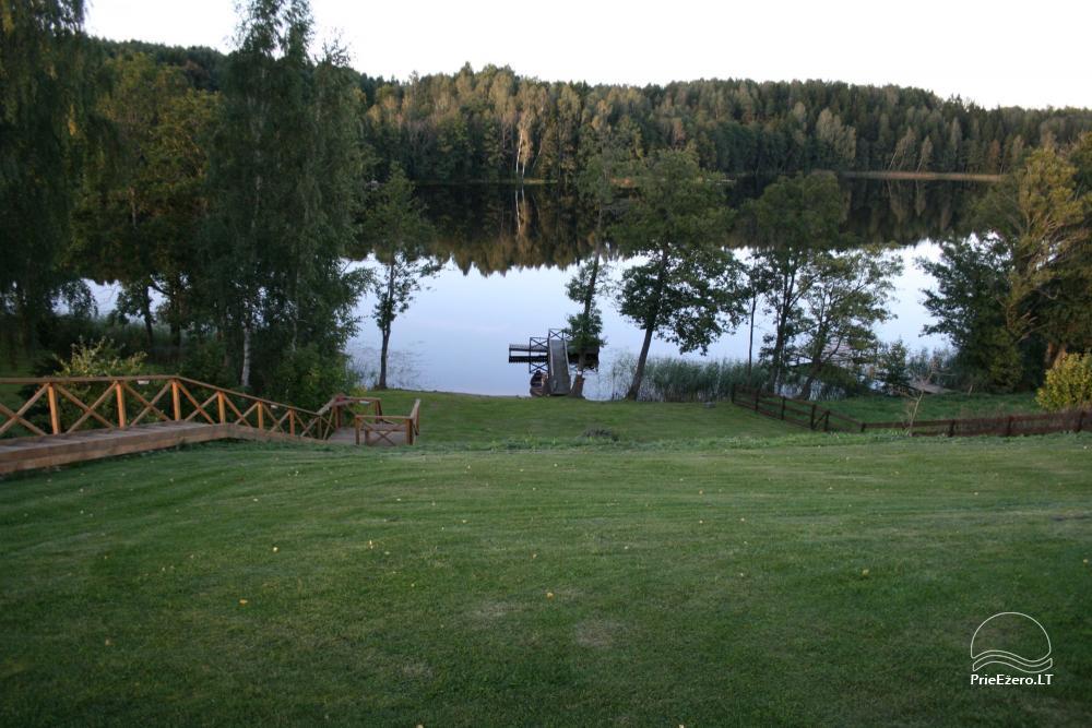Homestead for rent in Trakai region near the lake Juodis - 3