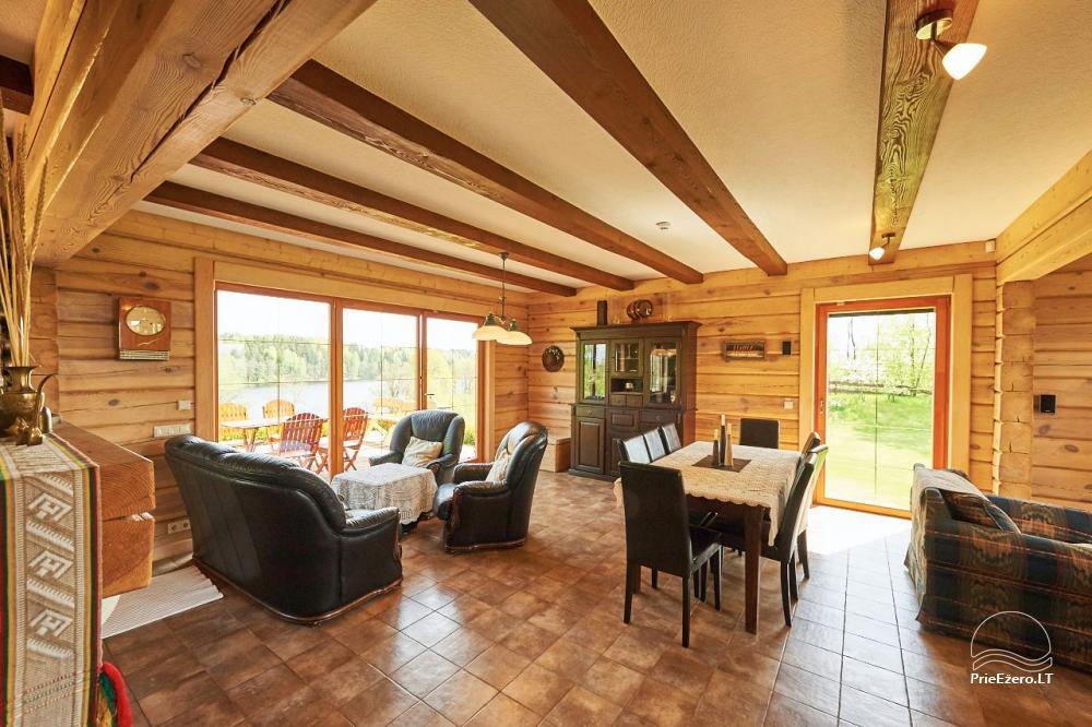 Homestead for rent in Trakai region near the lake Juodis - 8