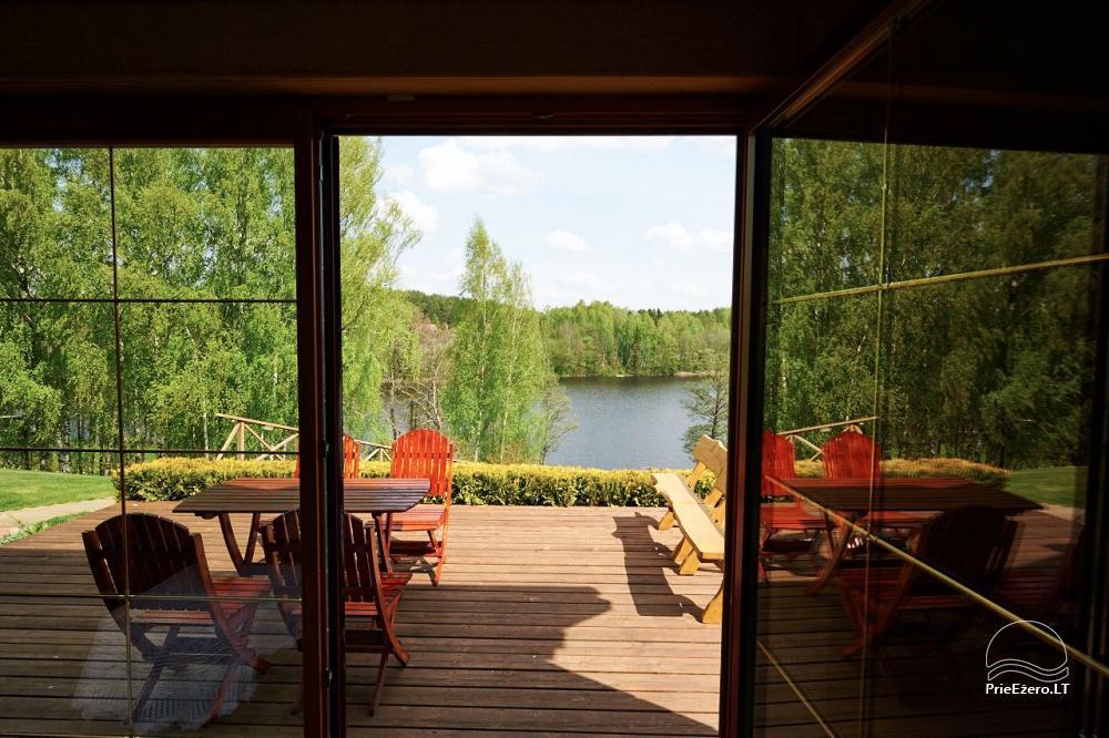 Homestead for rent in Trakai region near the lake Juodis - 10