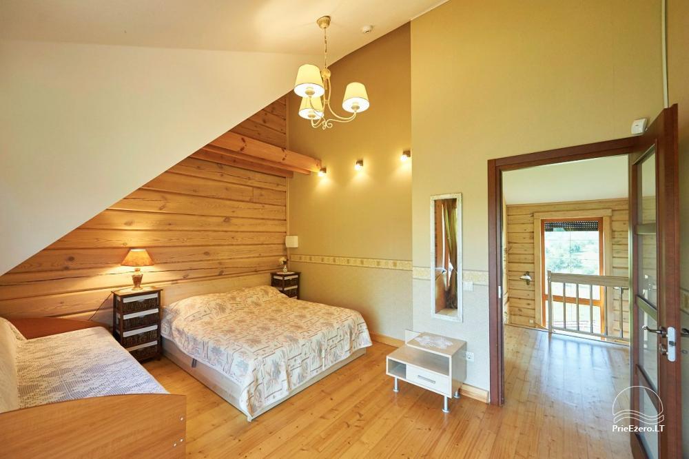 Homestead for rent in Trakai region near the lake Juodis - 12