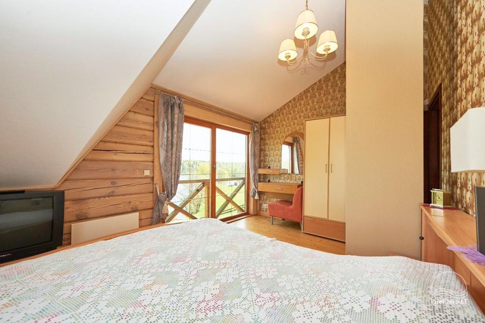 Homestead for rent in Trakai region near the lake Juodis - 13