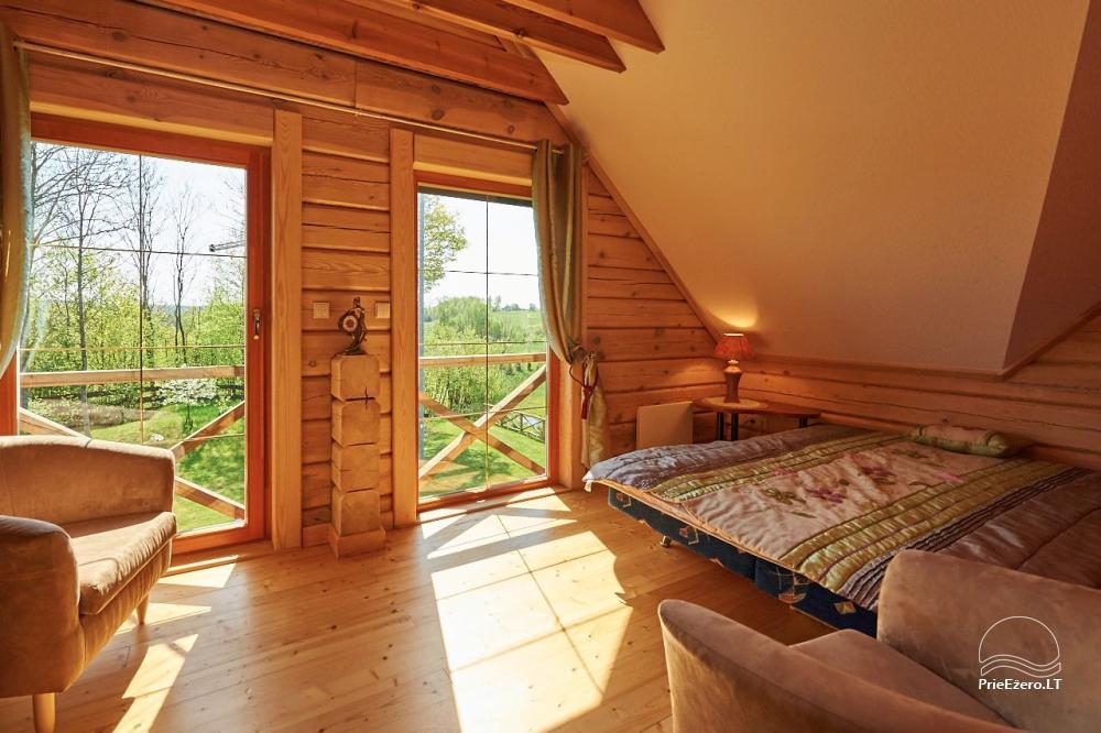 Homestead for rent in Trakai region near the lake Juodis - 14