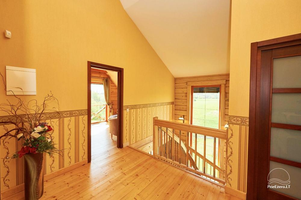 Homestead for rent in Trakai region near the lake Juodis - 16