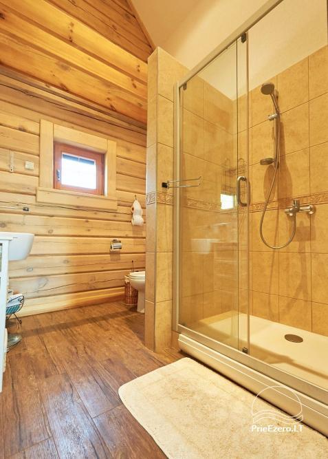 Homestead for rent in Trakai region near the lake Juodis - 17