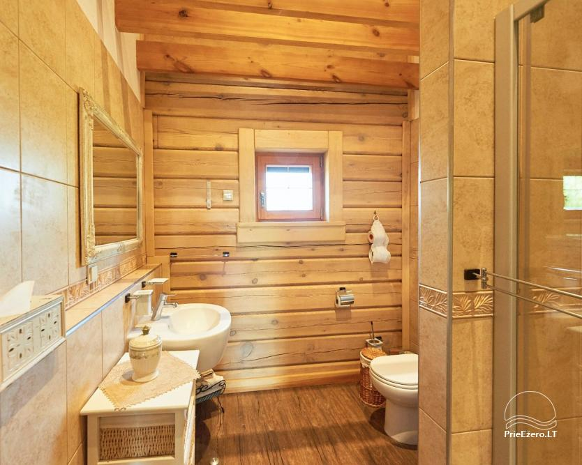 Homestead for rent in Trakai region near the lake Juodis - 18