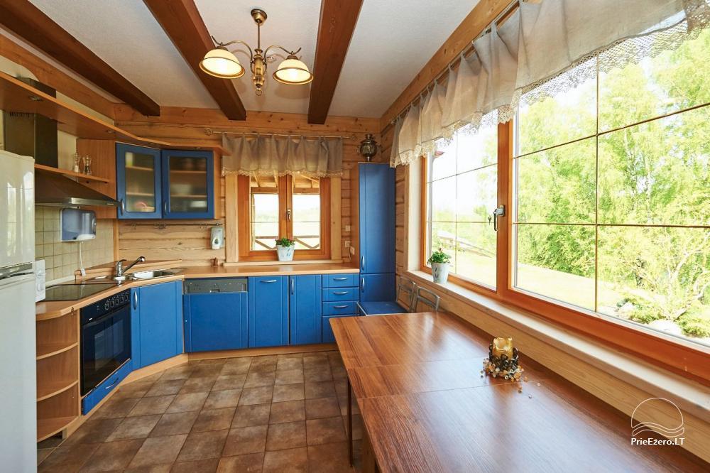 Homestead for rent in Trakai region near the lake Juodis - 19