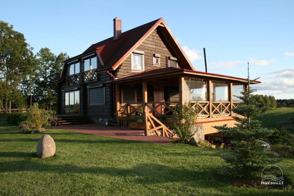 Homestead for rent in Trakai region near the lake Juodis - 1