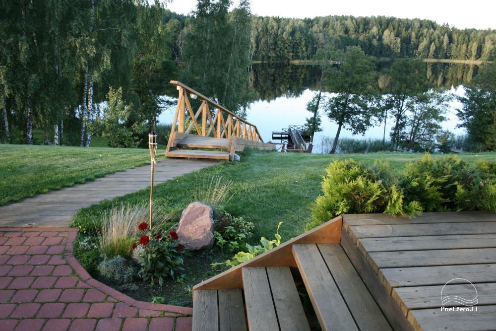 Homestead for rent in Trakai region near the lake Juodis - 2