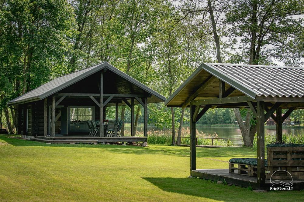 VieniKrante- Homestead for romantic or family rest on the lake shore - 1