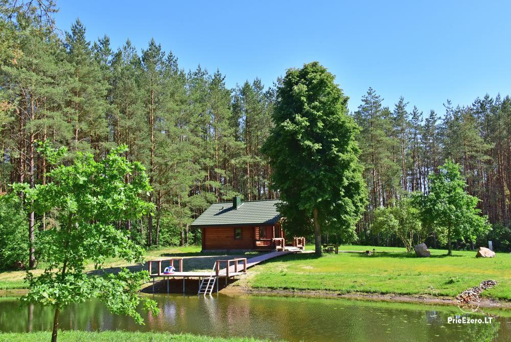 Recreation and wellness homestead Pušų šlamesy. Kernavė - 27