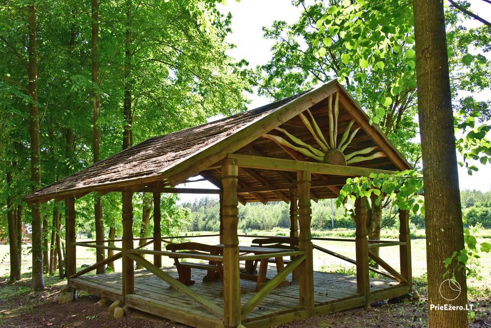 Recreation and wellness homestead Pušų šlamesy. Kernavė - 8