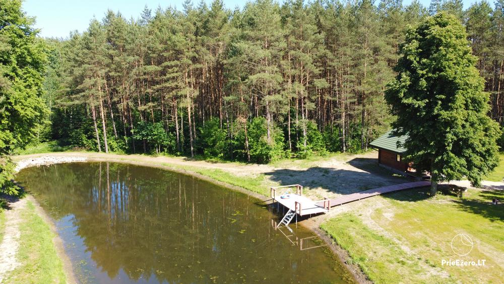 Recreation and wellness homestead Pušų šlamesy. Kernavė - 5