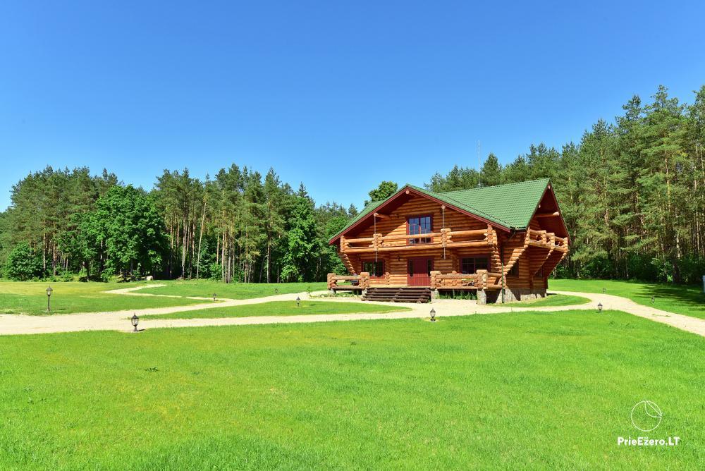Recreation and wellness homestead Pušų šlamesy. Kernavė - 2
