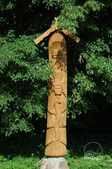 Recreation and wellness homestead Pušų šlamesy. Kernavė - 12