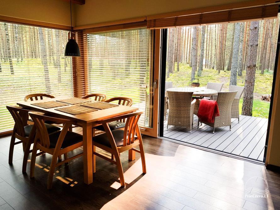 Vila Natura - accommodation in the forest near the lake Ilgis - 3