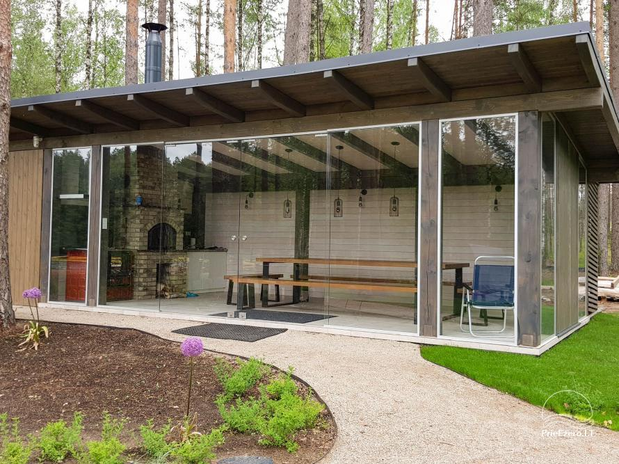 Vila Natura - accommodation in the forest near the lake Ilgis - 12