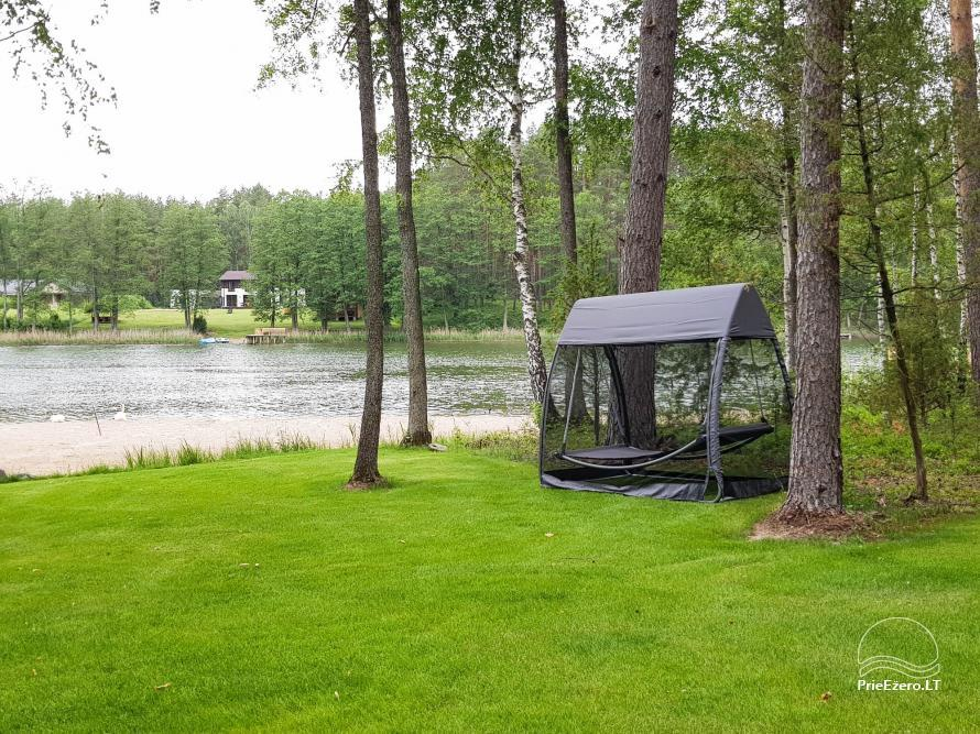 Vila Natura - accommodation in the forest near the lake Ilgis - 14
