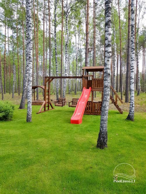 Vila Natura - accommodation in the forest near the lake Ilgis - 15