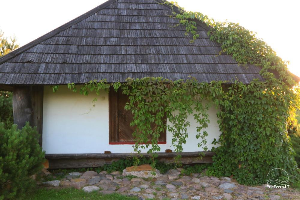 Усадьба в Игналинском районе на берегу водоема Ažvinčių sodyba - 16