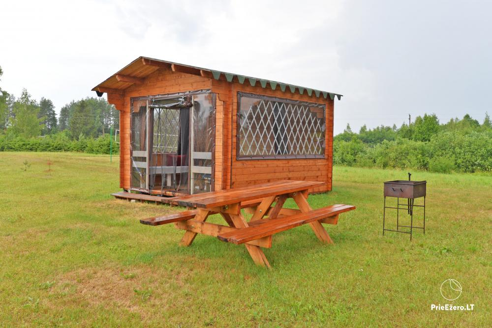 Small house for rent in a campsite near the river Kiauna - 6