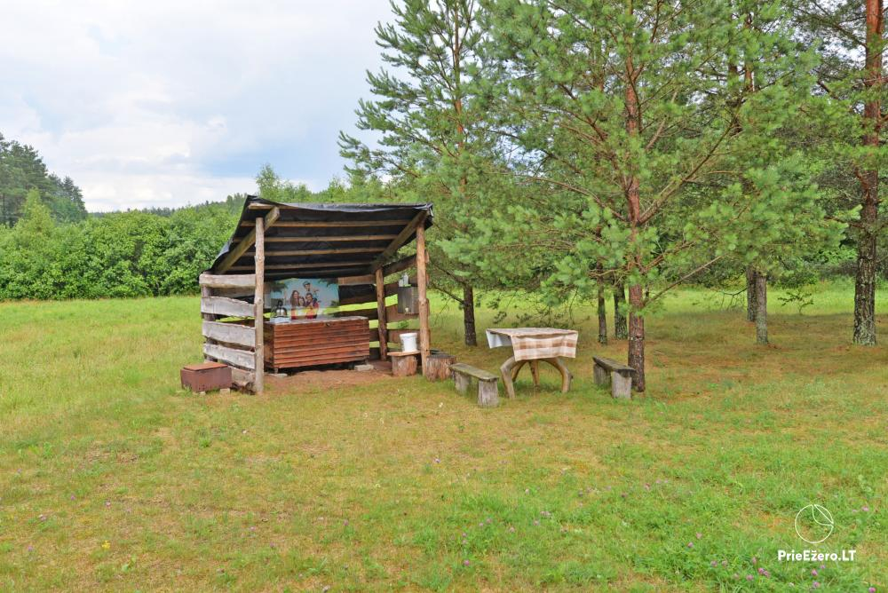 Small house for rent in a campsite near the river Kiauna - 10