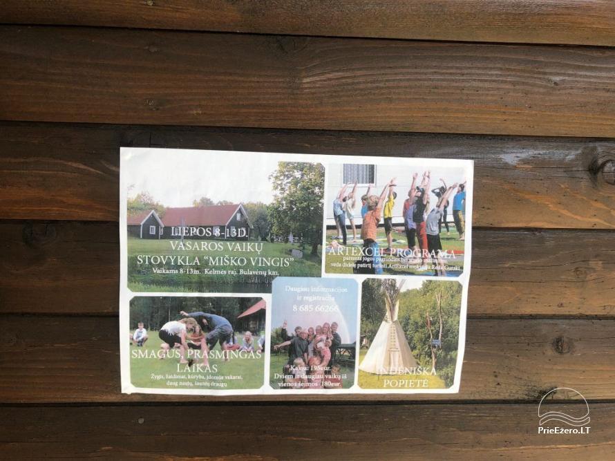 Miško vingis - countryside tourism homestead - 20