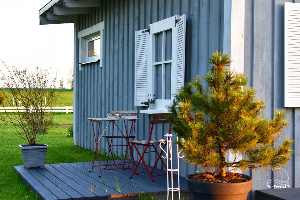 Apartments for romantic vacation, holiday cottage for family - Villa 9Vėjai - 32