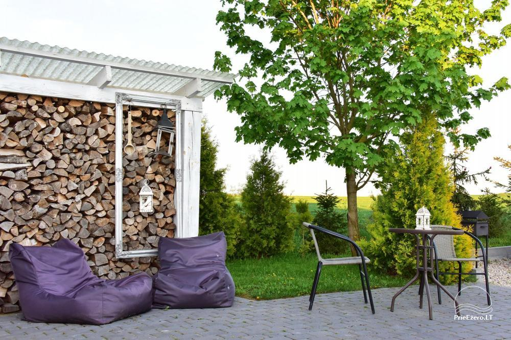 Apartments for romantic vacation, holiday cottage for family - Villa 9Vėjai - 14