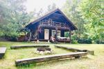 """Ferienhaus auf einem Gehöft im Bezirk Varėna, Dorf Rudnia """"Nykštukas"""""""