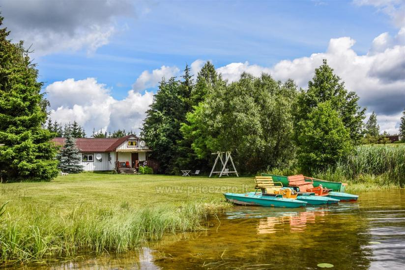 Sovai homestead by the lake in Trakai region, Lithuania - 5