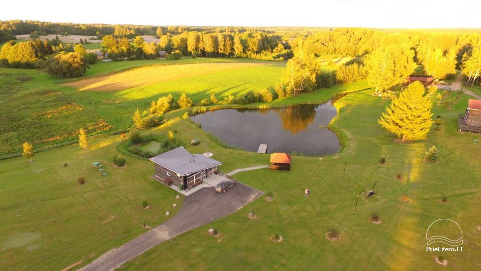 Homestead in Vilnius district Ranch - Four houses Complex - 9