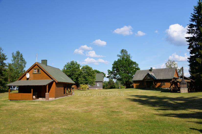 Žilėnų homestead by three lakes in Moletai district - 8