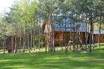 Ferienhäuser und Badehaus in einem Gehöft in Moletai Bezirk am See Žemuogynė - 10