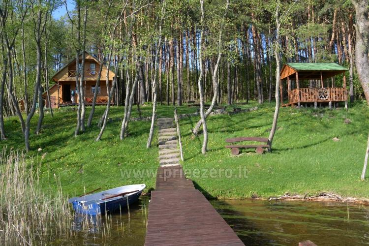 Holiday villas and bathhouse in a homestead Žemuogynė in Moletai district at the lake - 26
