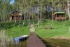 Holiday villas and bathhouse in a homestead Žemuogynė in Moletai district at the lake - 4