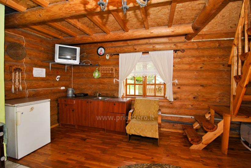 Homestead-villa Silvestras Manor: holiday cottages, bathhouse. Quiet and active vacation - 26