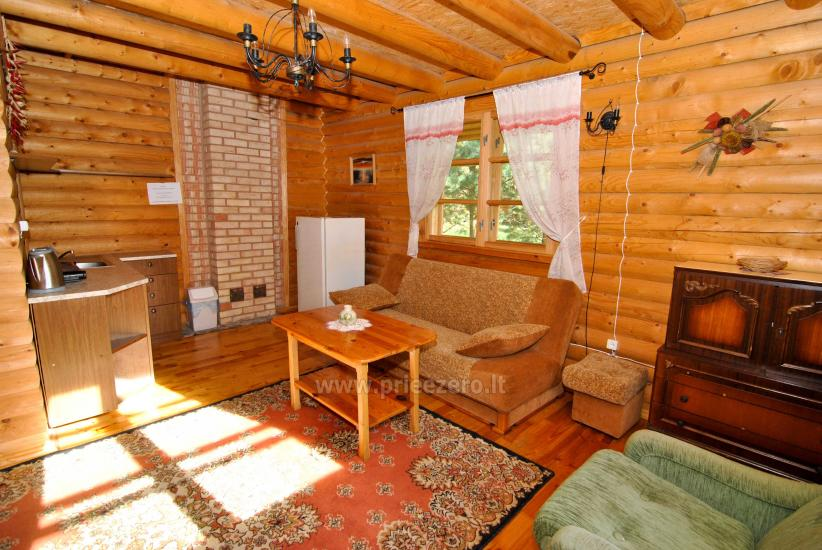 Homestead-villa Silvestras Manor: holiday cottages, bathhouse. Quiet and active vacation - 39