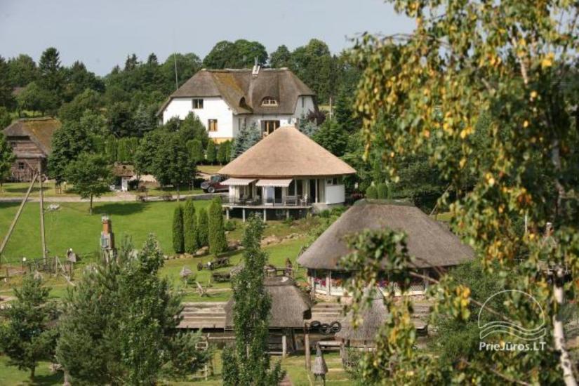 Agroturystyka w rejonie Kretyngskim Vienkiemis. Hotel - Cafe - Sauna - 1