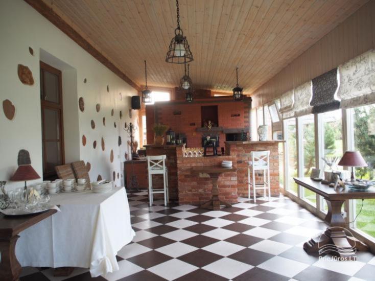 Homestead in Kretinga Vienkiemis. Hotel - Cafe- Bathhouse - 32