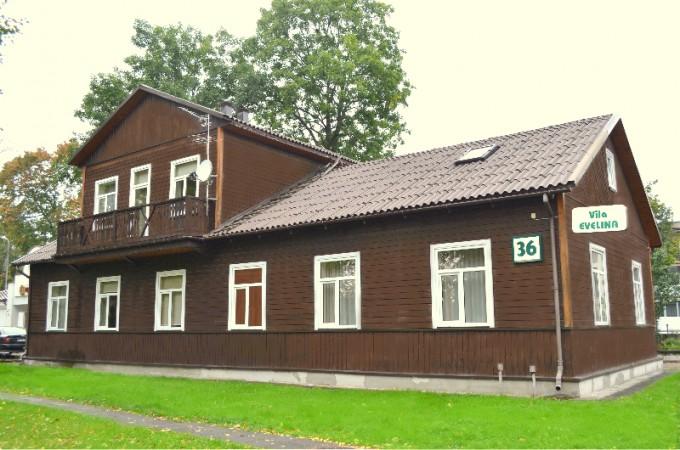 Pensjonat w Druskiennikach Villa Evelina - 1