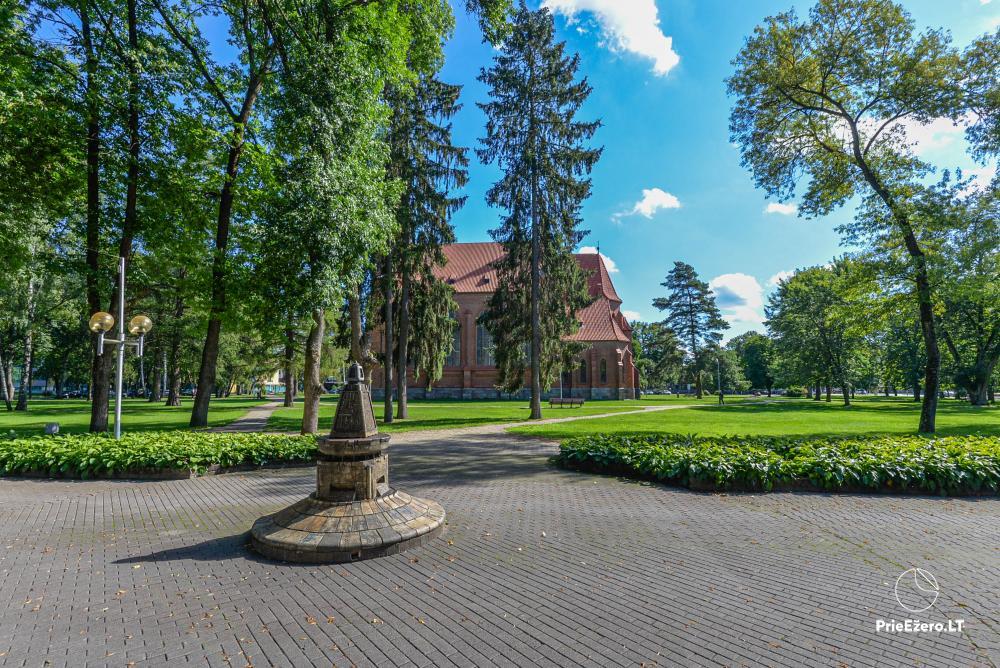 Wohnung im Zentrum von Druskininkai in der Nähe von Grand SPA, mit Blick auf den See! - 1