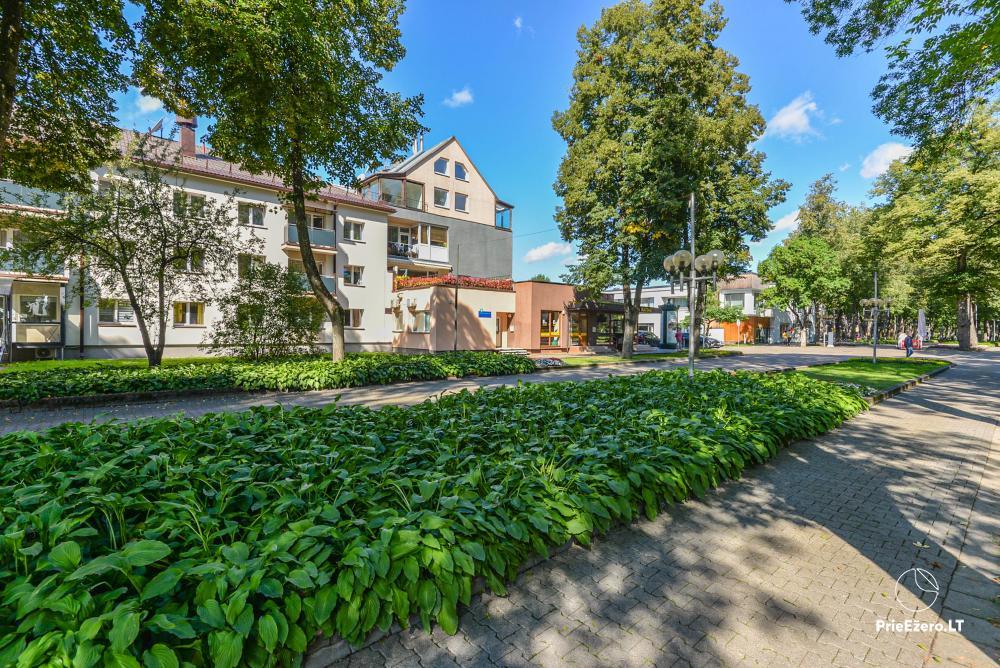Wohnung im Zentrum von Druskininkai in der Nähe von Grand SPA, mit Blick auf den See! - 2