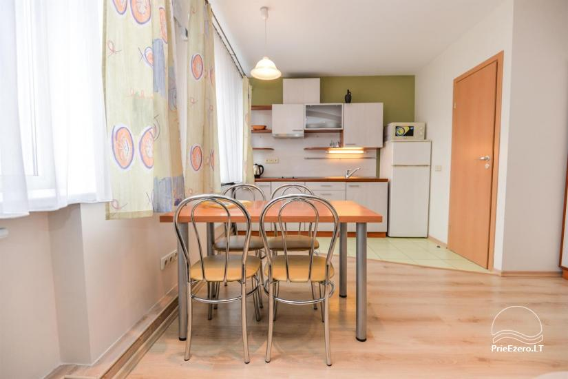 'Red' and green apartment in Druskininkai - 5