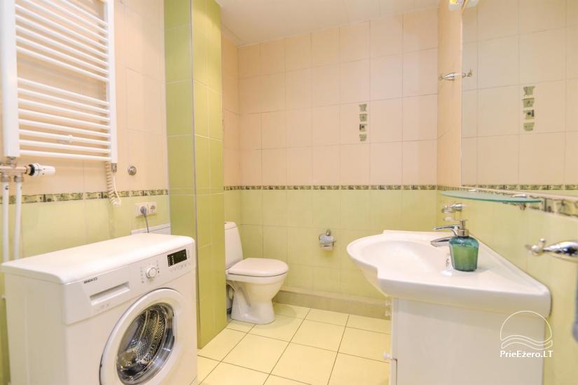 Green apartment in Druskininkai - 10