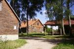 Agrotusystyka w najgłębszym jeziorem na Litwie Jono sodyba