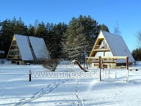 Recreation center in Moletai near the lake Bebrusai  'Rūta' - 3
