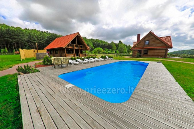 Baubliai countryside house near Klaipeda is located in a picturesque landscape reserve - 1