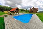 Baubliai countryside house near Klaipeda is located in a picturesque landscape reserve