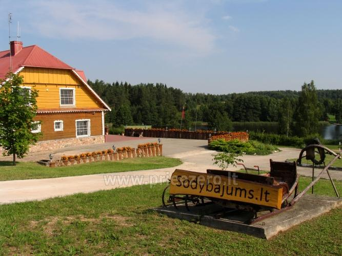 Homestead near lake for events, summer courses and training 48 km from Vilnius - 3